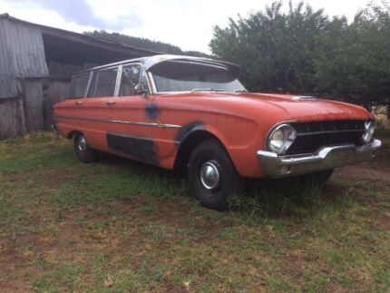 1963 XL Falcon station wagon swap or sell