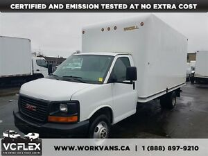 2014 GMC Savana 3500 G3500 16Ft + Ramp - ONLY 69,000KM