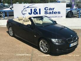 BMW 3 SERIES 3.0 335I M SPORT 2d 302 BHP A GREAT EXAMPLE INSIDE AND OUT (black) 2007