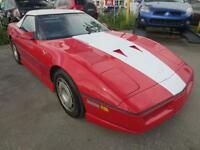 1987 Chevrolet Corvette CONVERTIBLE CUIR