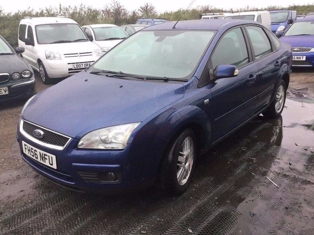 2007 FORD FOCUS GHIA DIESEL IN VGCONDITION VERY ECONOMICAL RARE BOOT MODEL MOT ALLOYS NEW CLUTCH
