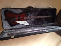 Epiphone Thunderbird (with hard case) For Sale - Willing to trade