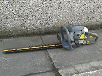 Ryobi 26cc Petrol Hedge Cutter Trimmer RHT2660DA