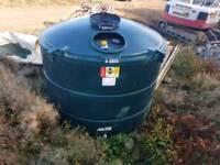 Bunded oil tank 3500l