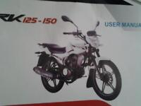 125 keyway excellent bike