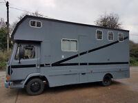 Horsebox, Leyland Daf FA45. 130TI.