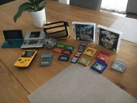 Pokemon games and console bundle