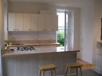 OWN FRONT DOOR & BALCONY: incl OFFSTREET PARKING & WATER RATES. ONE BED S/C FLAT IN STOKE. NO FEES