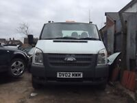 Ford transit recovery truck 2012 facelift beaver tail PX welcome