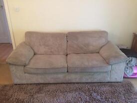 2 x Large comfortable sofas