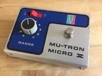 MU-TRON Micro V Envelope Filter - Early 1970s Musitronics vintage pedal