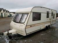 Bailey Senator Montana twin axle 5 Berth with shower,hot water system and toilet