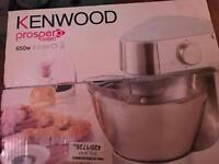 Kenwood prosper compact 4.3 litre 650w brand new never