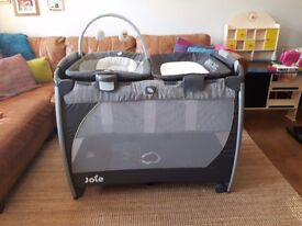 Joie Excursion Change and Bounce Travel Cot