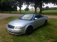 Audi A4 1.8T convertible - reduced to sell by the end of the weekend.