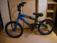 Childs Tribal Blue/Black Bike, used once