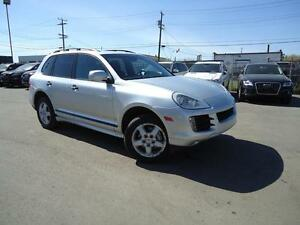 "2008 Porsche Cayenne ""S"" 2-SETS Wheels V8 385Hp LOW Kms"