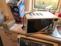 Russell hob microwave and toaster