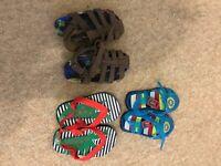Baby boy sandals size 6