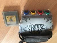Nintendo DS Guitar Hero - On Tour game.