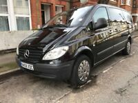 MERCEDES VITO TRAVELINER 2.2 DIESEL 6SPEED MANUAL 2008-REG 8 SEATER NOT 7 VERY SPACIOUS FAMILY CAR