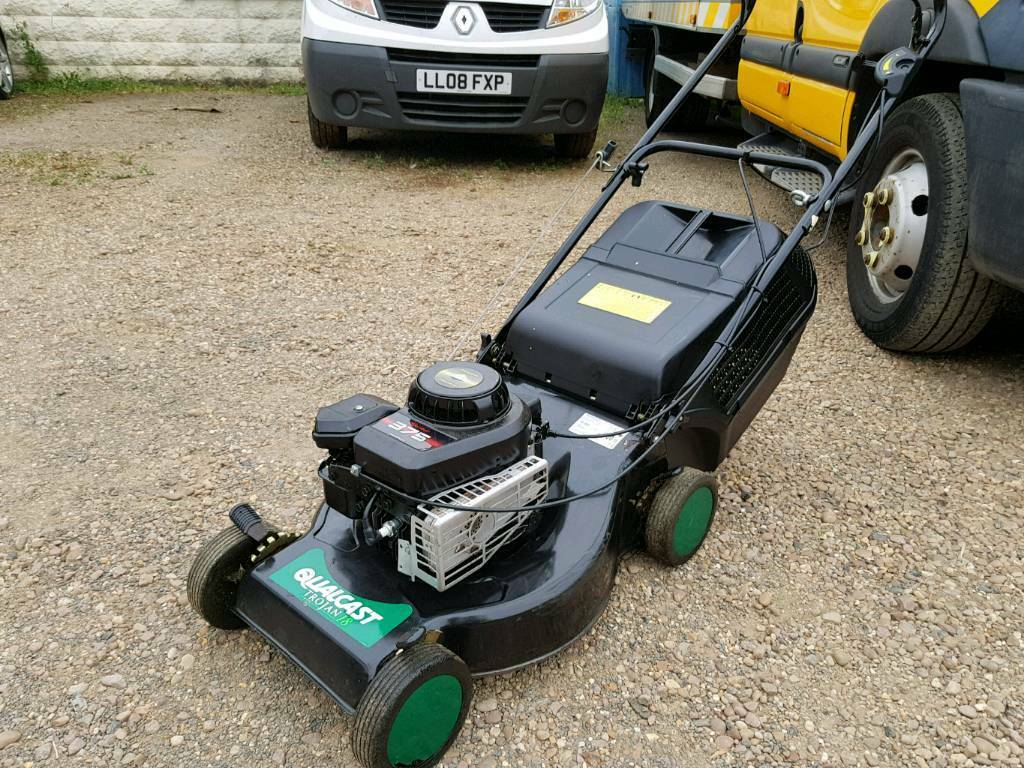 qualcast petrol lawn mower briggs and stratton engine not. Black Bedroom Furniture Sets. Home Design Ideas