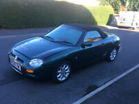 1998*MG MGF 1.8I VVC*LEATHER INTERIOR*5 MONTHS MOT*CONVERTIBLE*ALLOYS