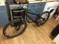 Custom jump bike and a BMX /Saracen/carerra/trek/cboardman/wethepeople