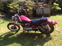 124cc 1998 Yamaha Virago