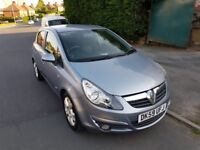 Vauxhall Corsa 1.2 SXi Petrol Sliver/Blue 5 door Manual 100,000 miles