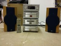 JVC Hi-Fi micro system - excellent condition, full working order