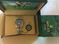 New Swiss Ladies Rolex Oyster Datejust Perpetual Automatic Watch, Rose gold