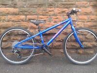 """New Dawes Bullet LT Lightweight 24"""" Blue Kids Bike - RRP £399.99"""