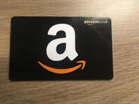 Amazon £100 gift voucher