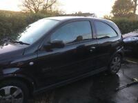 2006/56 Vauxhall Corsa Accident damage, starts, runs, valid MOT