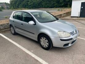 image for Vw mk5 golf 2006 1.4 petrol 2 owners 105k low miles