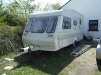 Abbey GTS 415 4 berth caravan 1990 model with awning very good condition SOLD