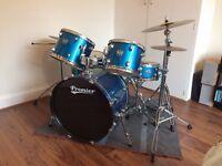 Premier Cabria 5 Piece Drum Kit