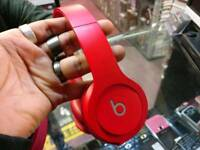 Dr Dre Beats Solo HD Red Special Edition Headphones