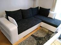 CORNER SOFA BED MINT CONDITION FEW MONTHS OLD