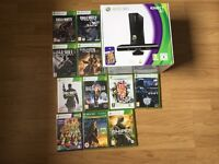 Xbox 360 Kinect and 11 games