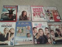 dvd s rom coms and fitness dvd s