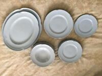 Dinner set plates china 34 pieces
