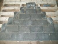 Reclaimed roofing slates 12x8 32p lots off other sizes available