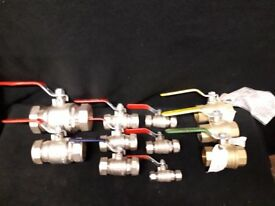 Lever ball valves, quality make.