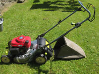 "Honda Izy HRG465 self propelled 18"" mower - needs new chassis"