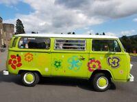 For sale 1979 T2 VW campervan