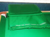 Full size Snooker Bed & Cushions (Strachan 6811) Cloth