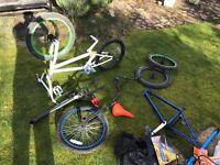 BMX job lot parts