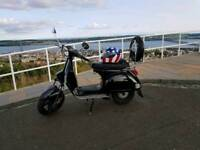 Vespa px 125cc kitted